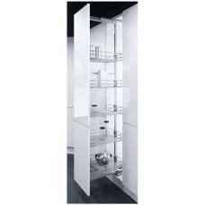 Висувна система TAL Larder HSA-5, висота 1700-1950мм, 5K-450мм, сапфір хром